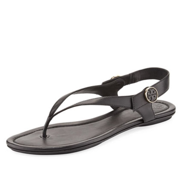 1c52fdc290dd TORY BURCH Minnie Travel Sandal (Black) 13. M 5b8725258869f7b7f422bf27